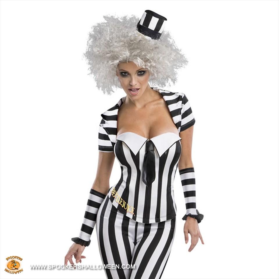 Beetlejuice Costumes For Women Spookers Halloween