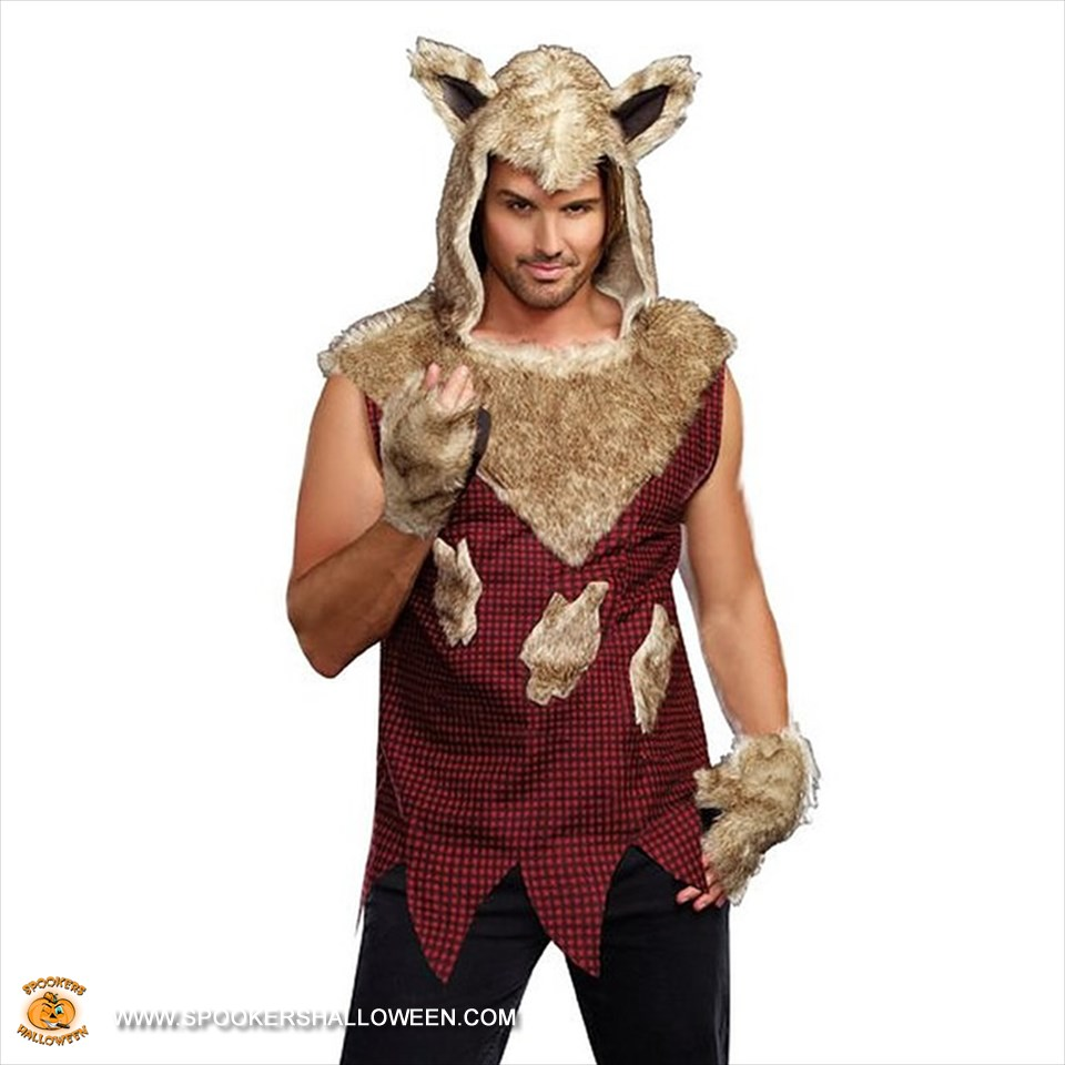 big bad wolf costumes for men spookers halloween