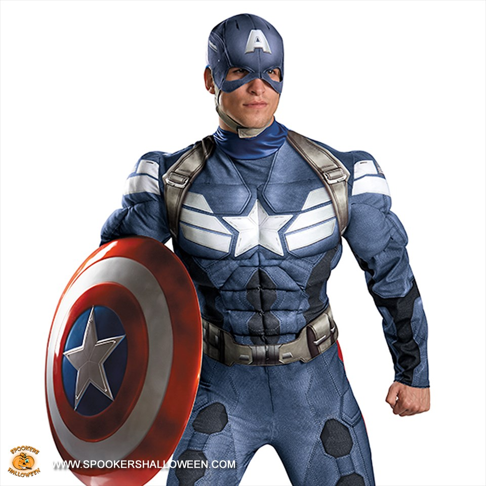 captain america the winter soldier costumes for men spookers halloween