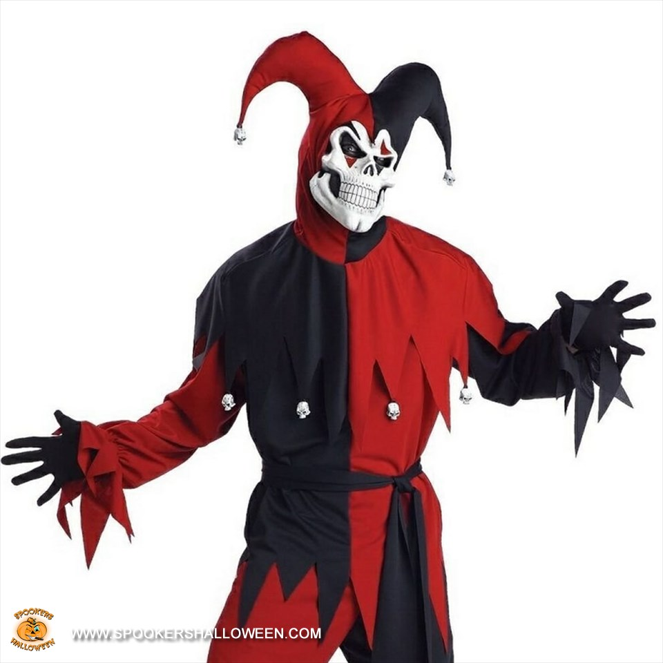 sc 1 st  Spookers Halloween & Evil Jester Costumes for Men Spookers Halloween