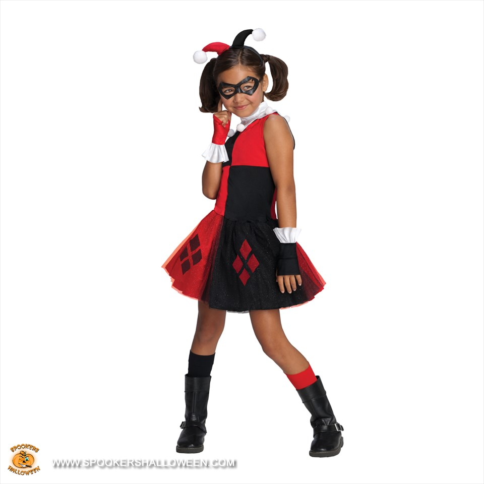 Harley quinn tutu costumes for girls harley quinn tutu girls costume