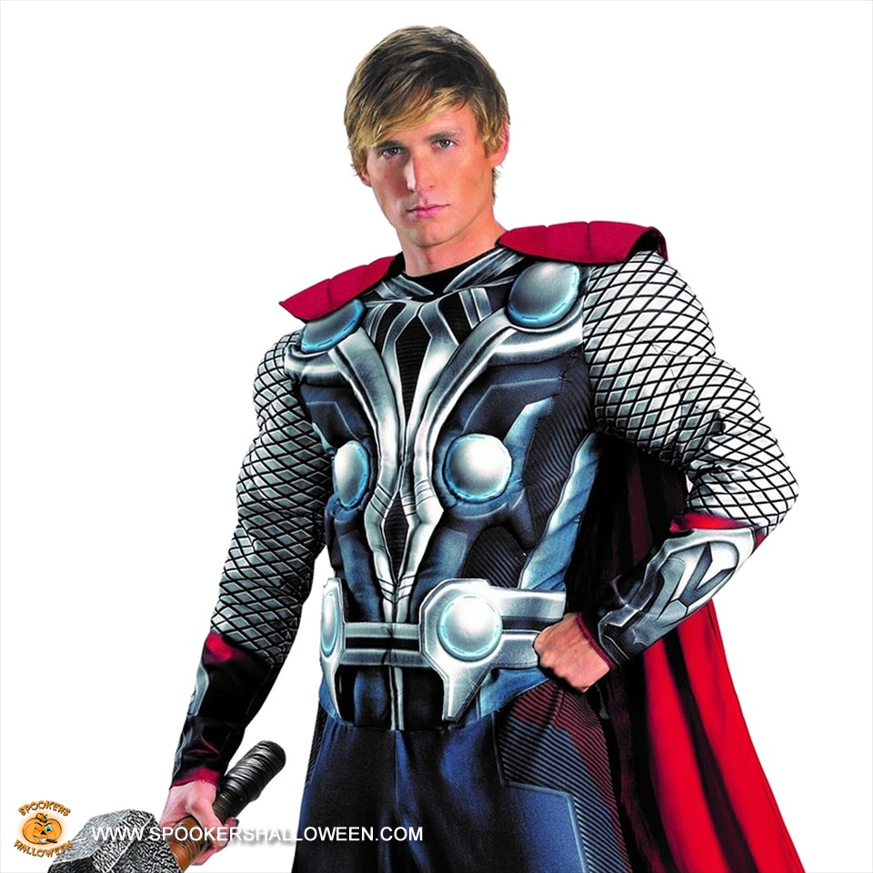 Marvel Avengers Thor Costumes for Men Spookers Halloween