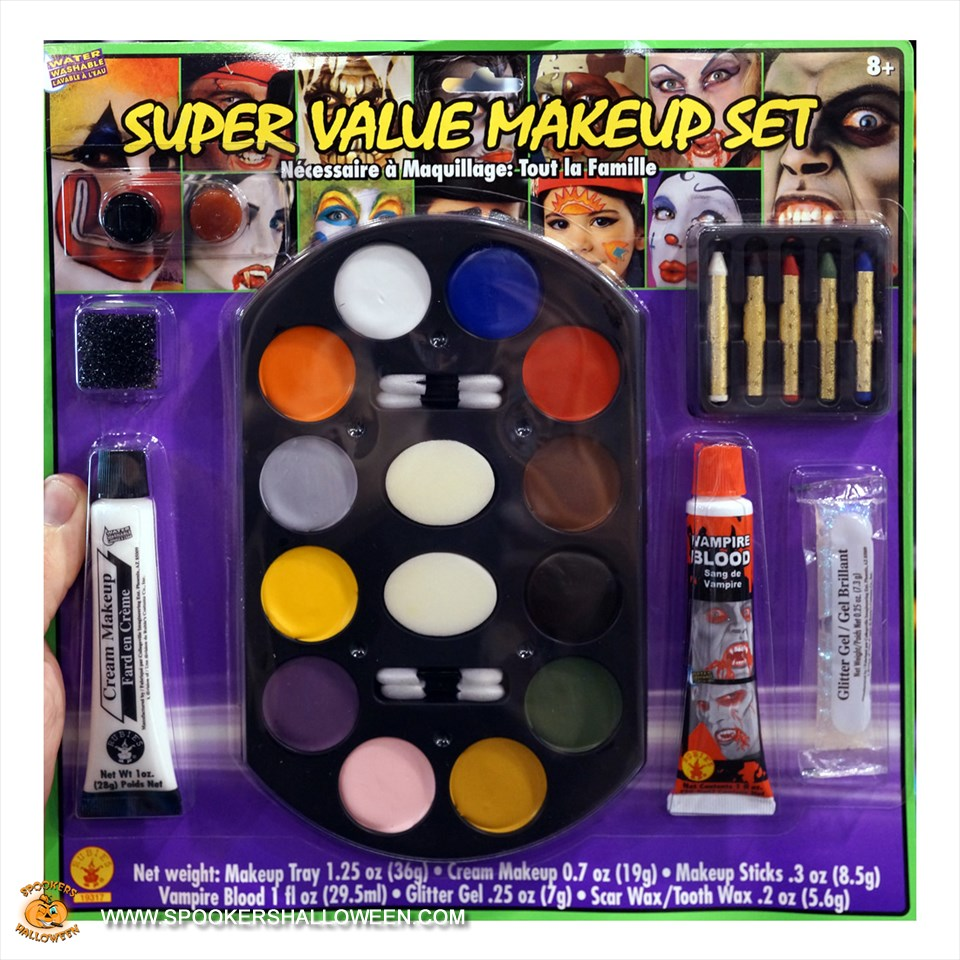 Super Value Makeup Set Halloween Costume Makeup Spookers - Makeup Set Halloween