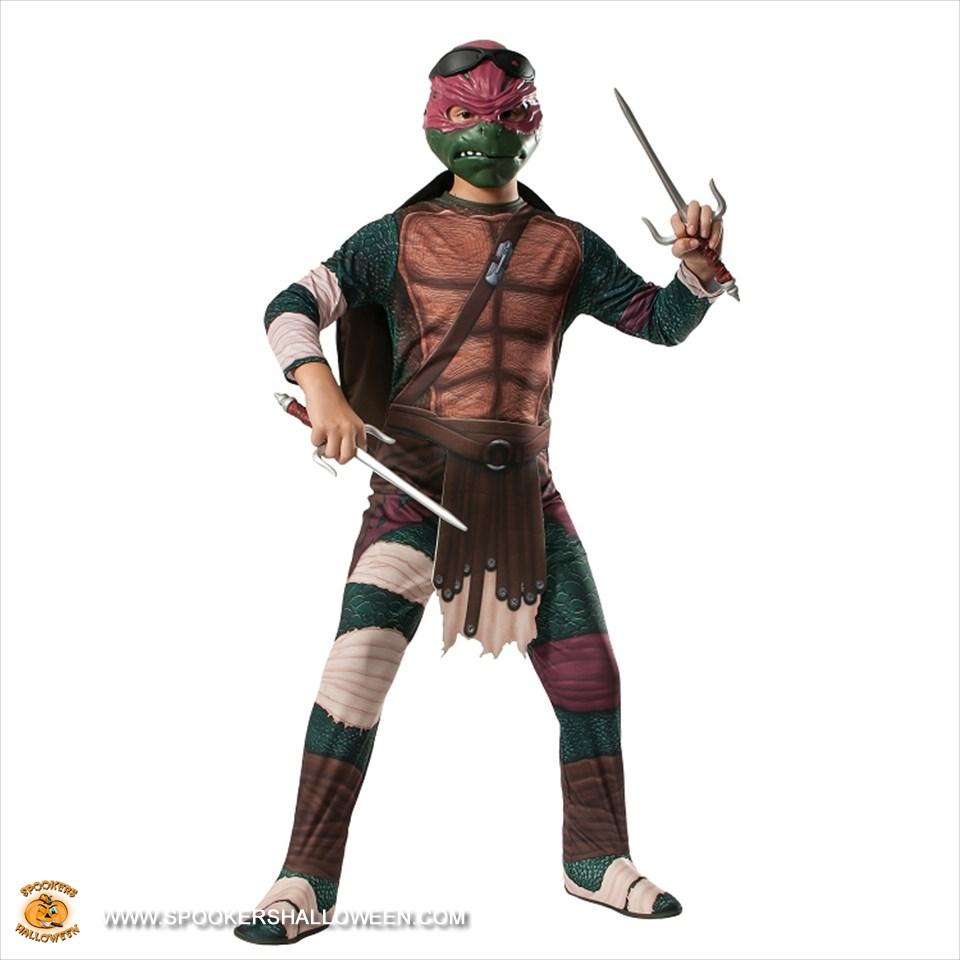 teenage mutant ninja turtles raphael deluxe costumes for boys