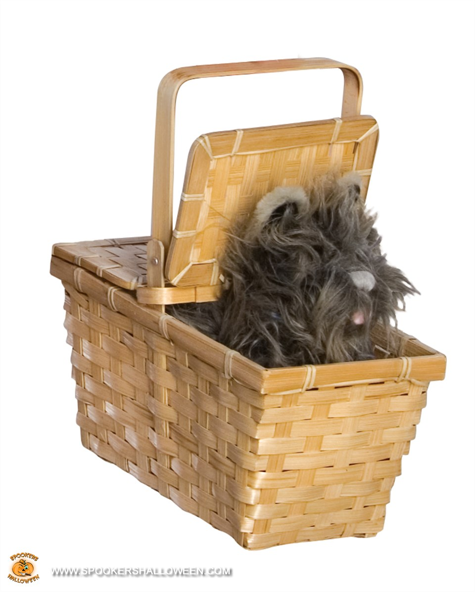 Toto in a Basket Costume Assessories Spookers Halloween